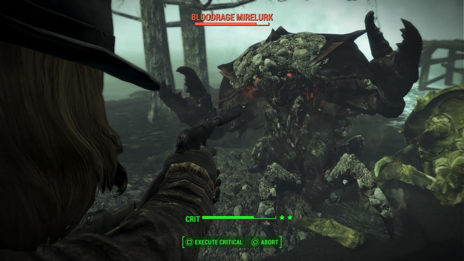 Fallout 4 Far Harbor Bloodrage Mirelurk