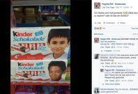 The images were criticised on Pegida\'s
