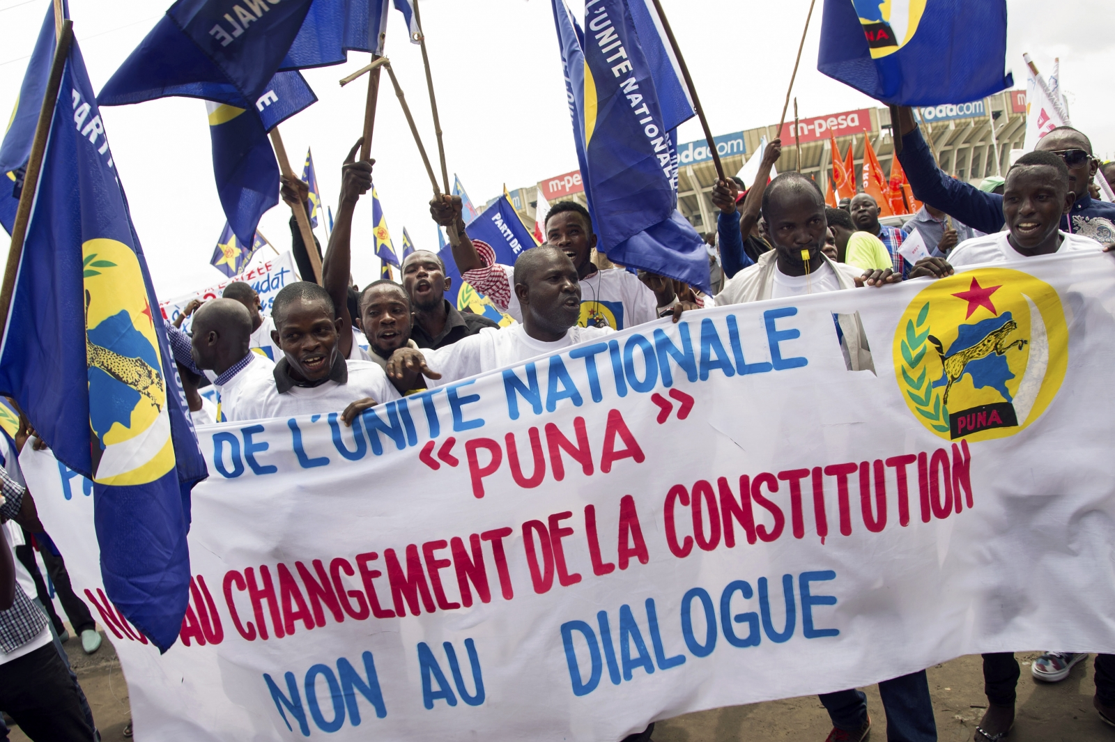 DRC elections protests