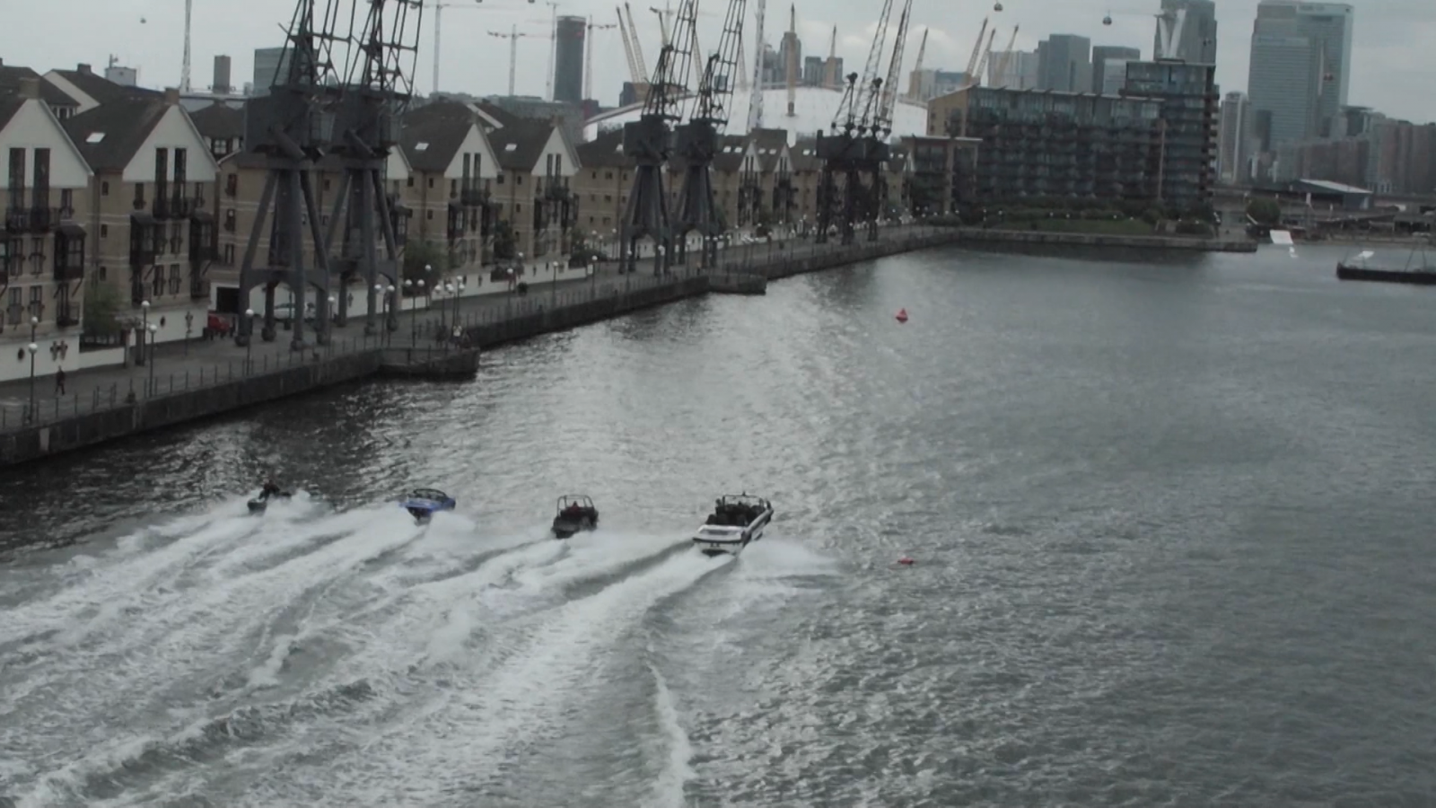 World's first high-speed amphibious taxi service could revolutionise London's public transport