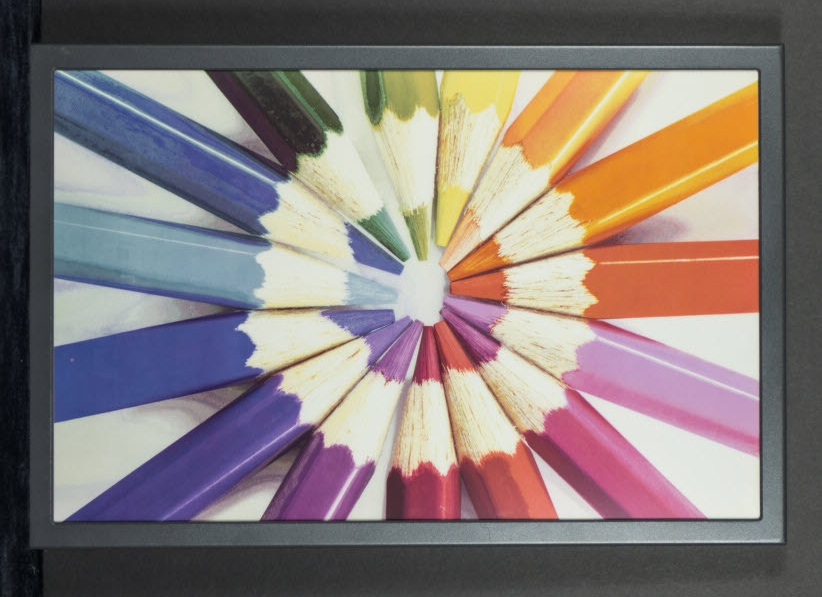 Full colour e-ink display could bring magazines to Kindles