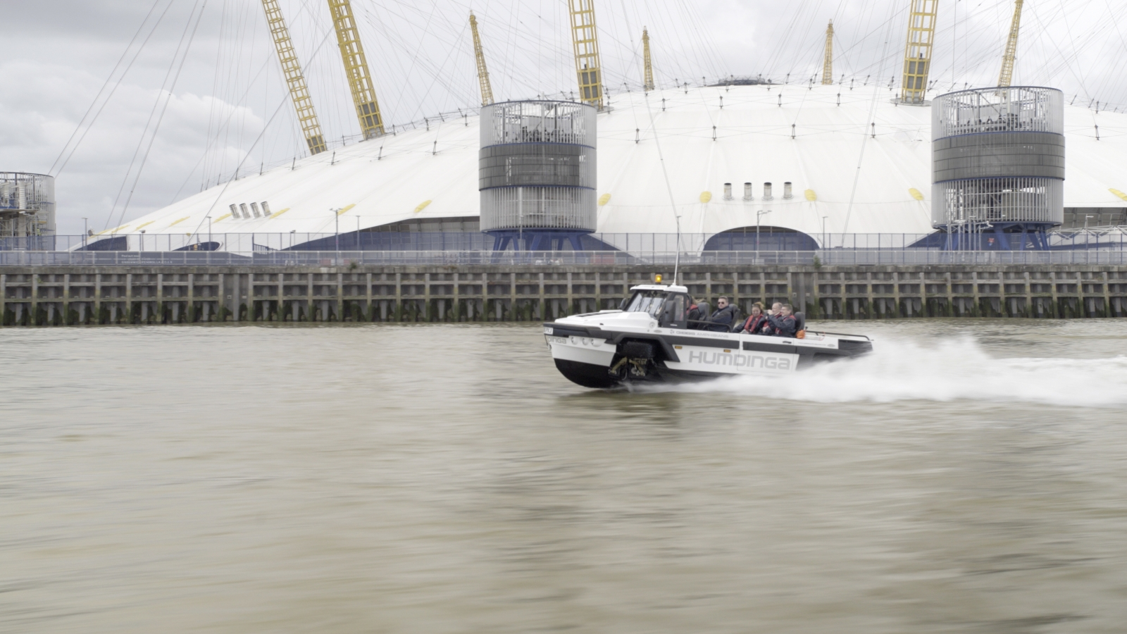 World's first amphibious taxi London