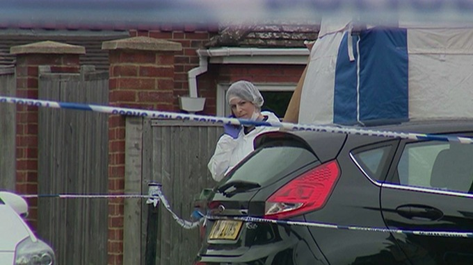 Woman killed in botched burglary