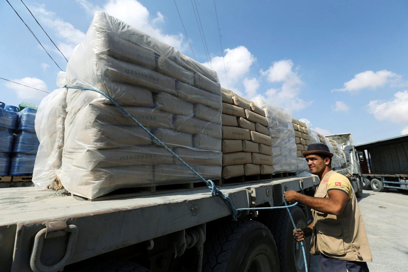 Cement Gaza Strip