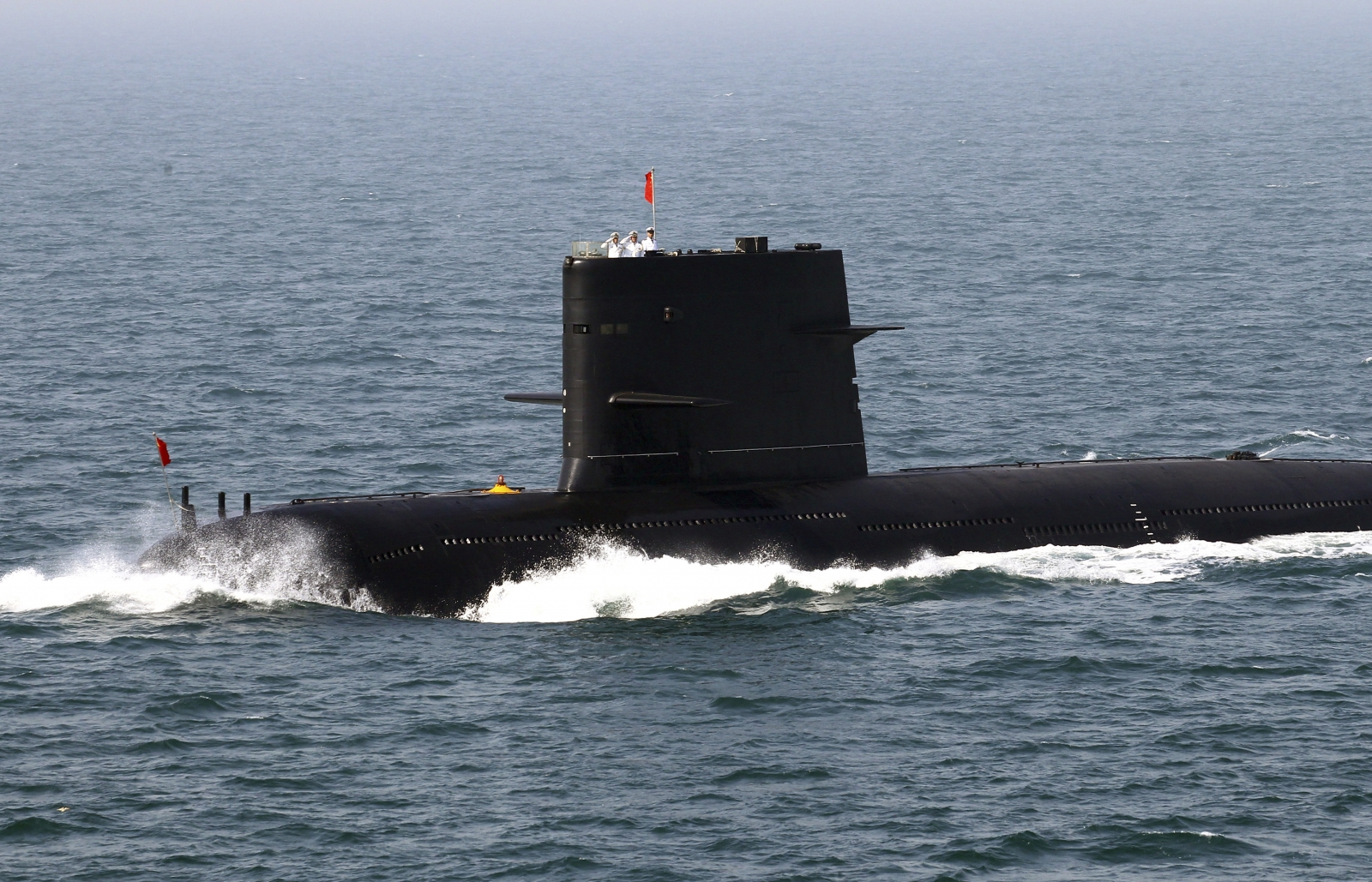 China submarine, Yellow Sea
