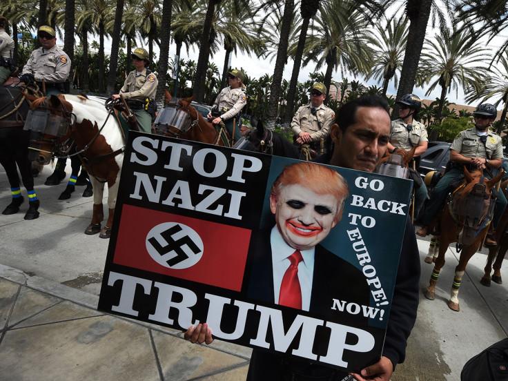 Trump riots