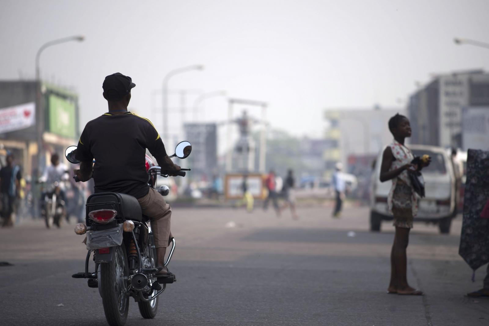 Ville Morte, strike day in Kinshasa
