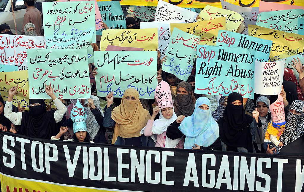 Women in Lahore protests against honour killings