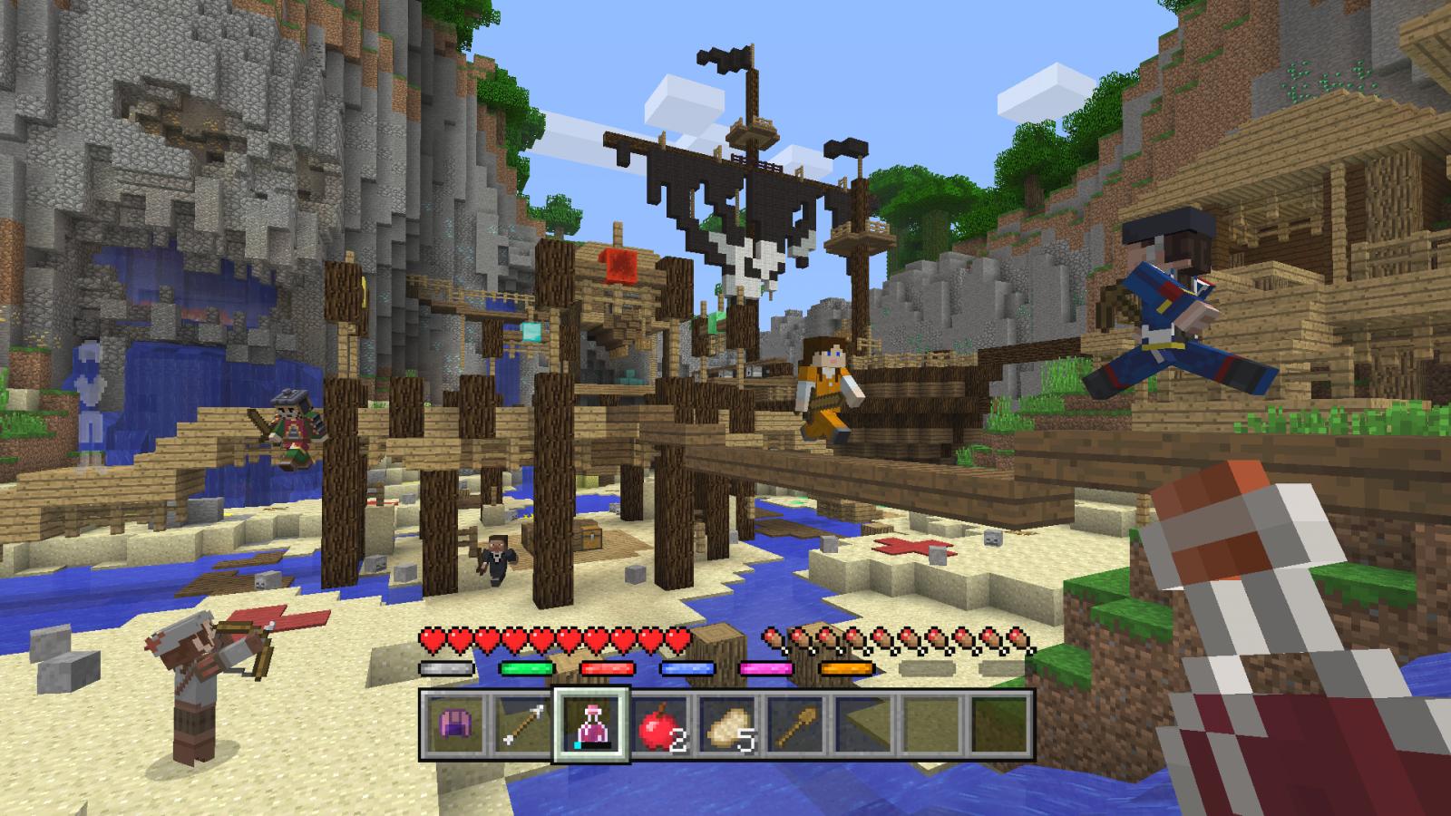 Minecraft Battle Deathmatch Mode