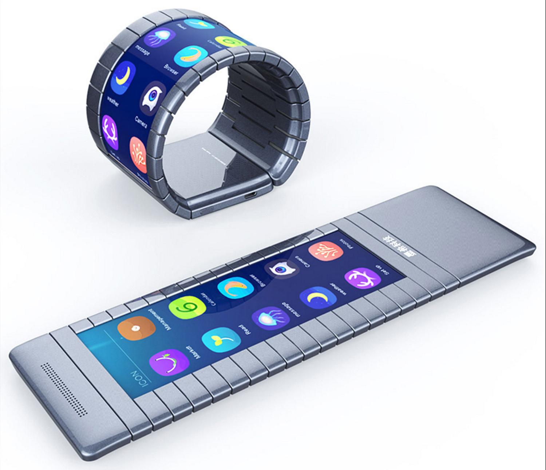 Moxie flexible smartphone