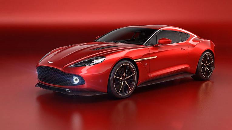 The Aston Martin Vanquish Zagato Concept