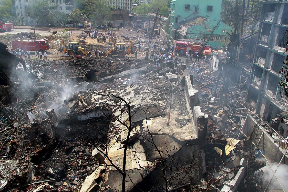 Mumbai chemical plant