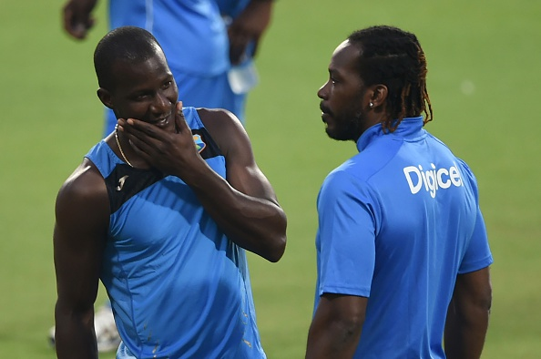 Chris Gayle Darren Sammy