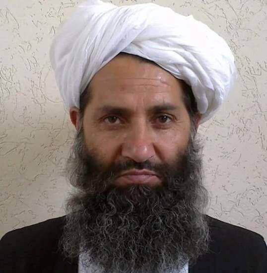 Taliban new leader peace talks