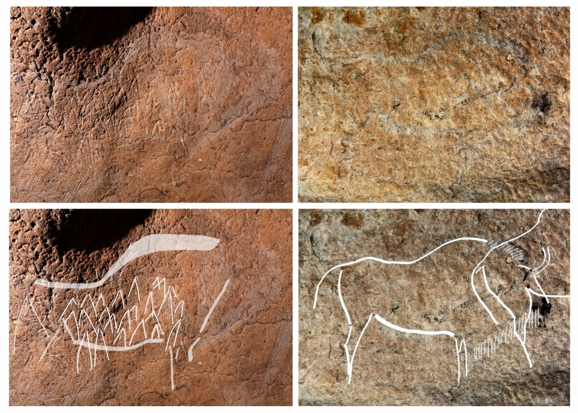 Atxurra cave paintings