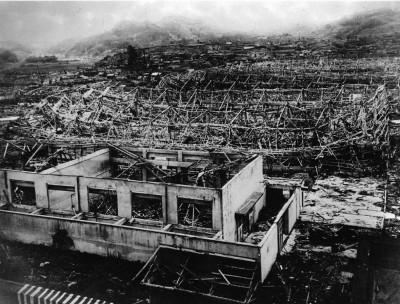 Hiroshima bomb 1945