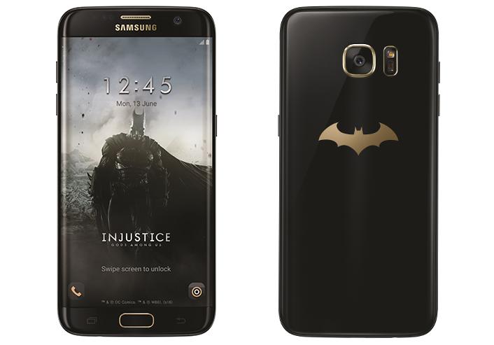 Galaxy S7 Edge batman edition