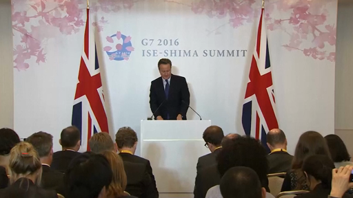 G7 Summit: Brexit is a 'risk to global growth'