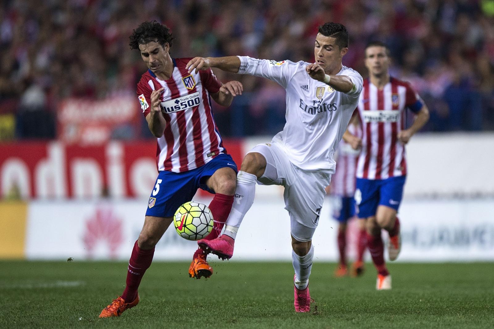 Tiago and Cristiano Ronaldo