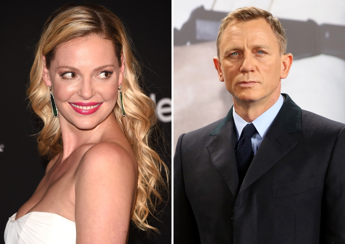 Katherine Heigl and Daniel Craig