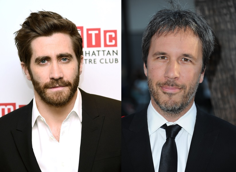 Jake Gyllenhaal and Denis Villeneuve