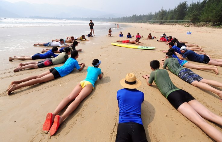 Surfing South China Sea