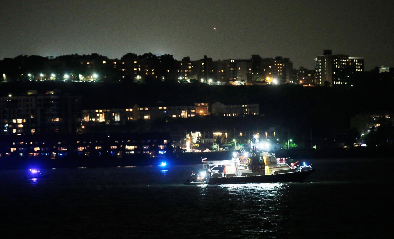 Plane crash in Hudson River