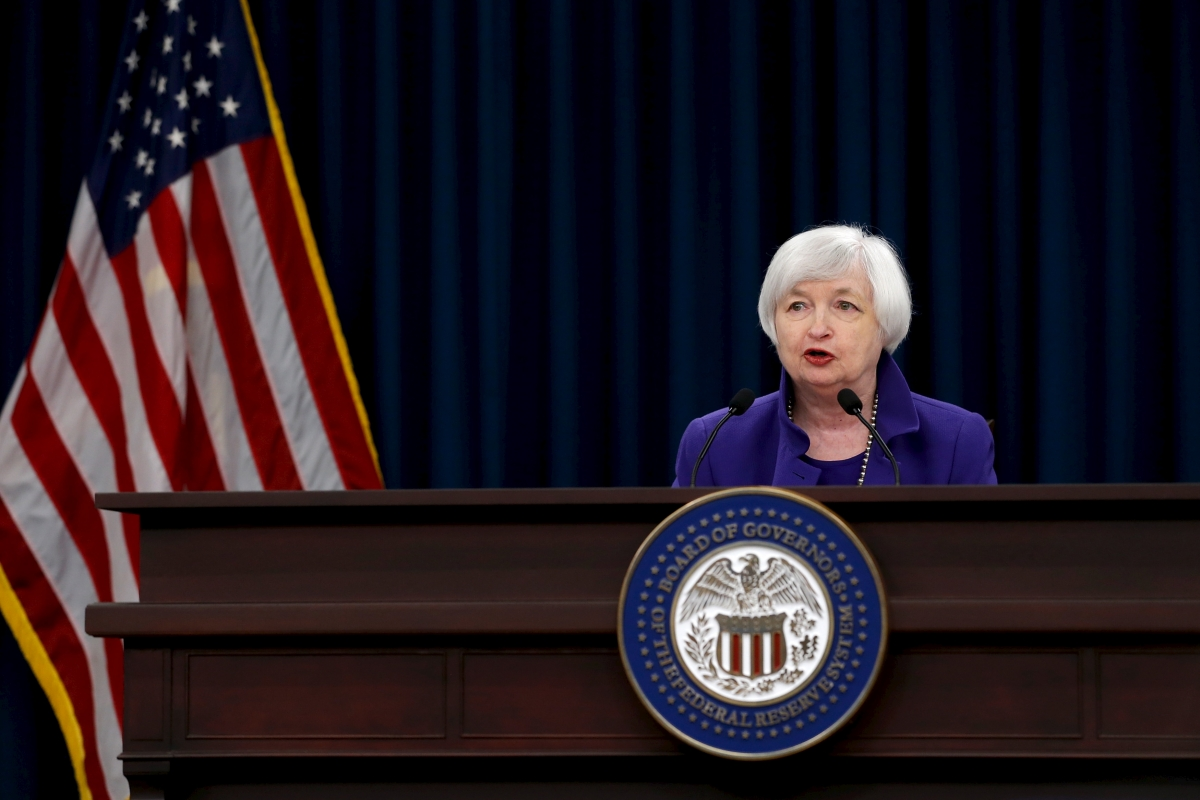 Fed rate hike: Chairperson Janet Yellen