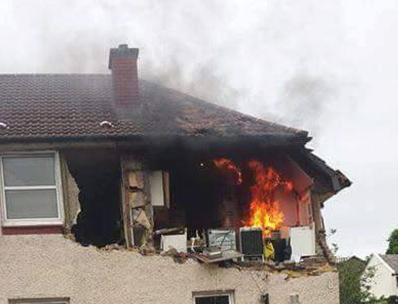 Gas Explosion in West Dunbartonshire