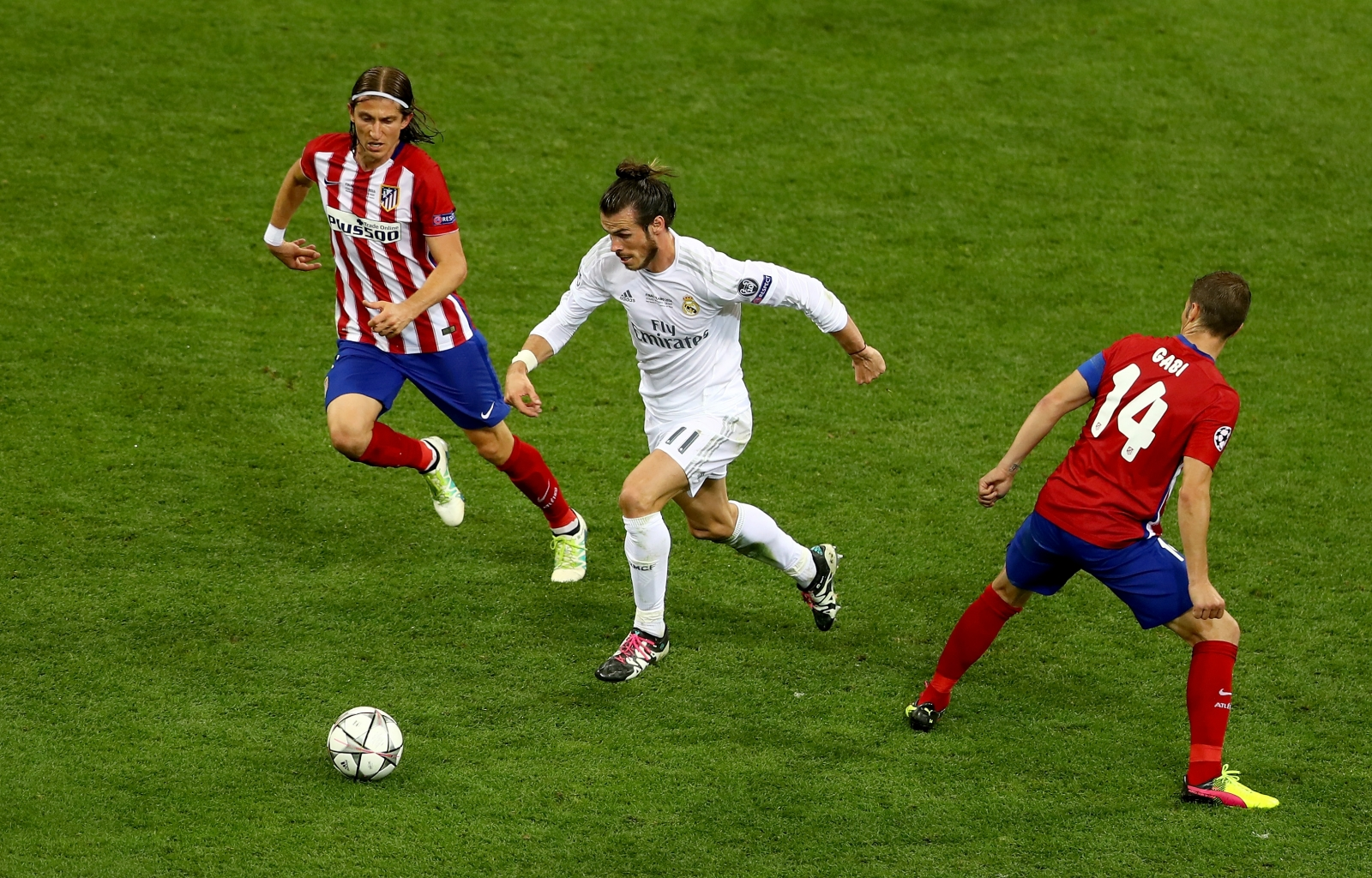 Gareth Bale in action for Real Madrid