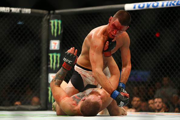 nate diaz conor mcgregor