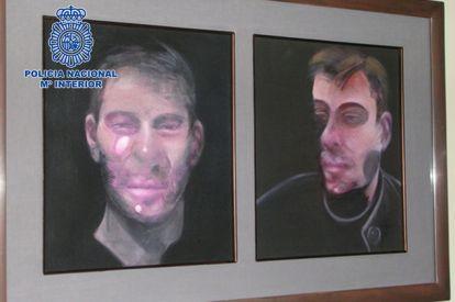 francis bacon stolen painting arrests spain