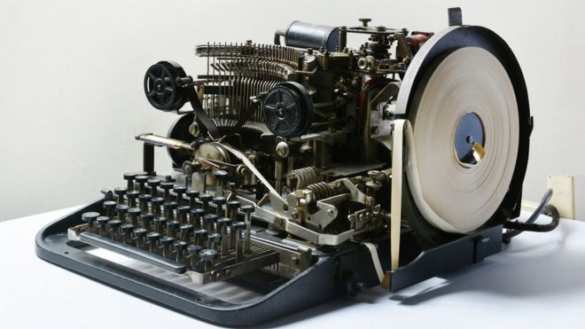 The Lorenz teleprinter