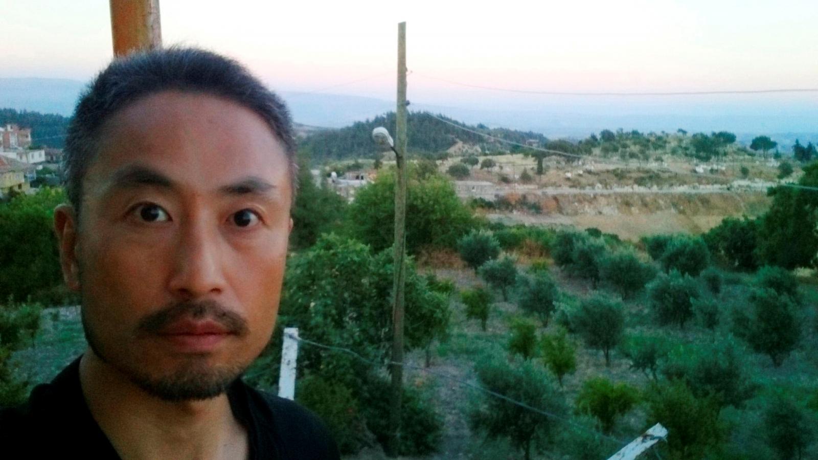 Japanes journalist Jumpei Yasuda