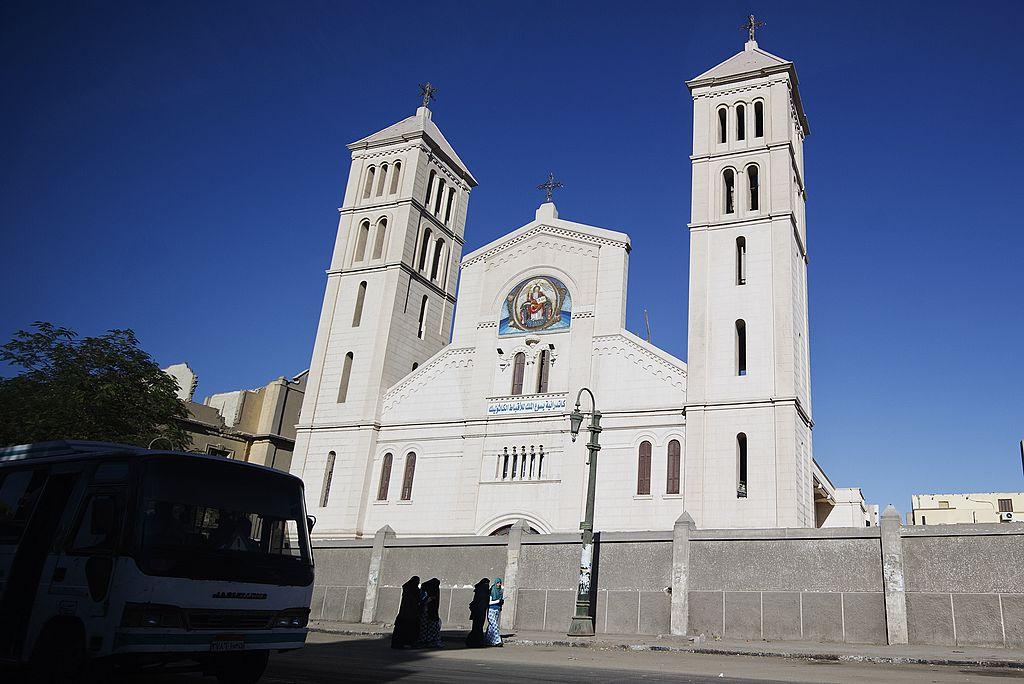 Coptic church in  Minya