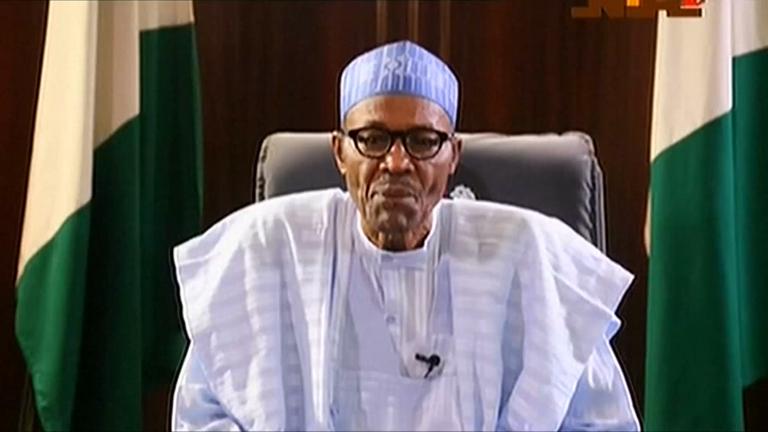 Risultati immagini per buhari nigeria president