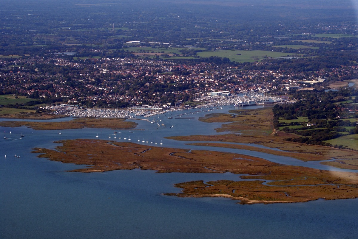 Lymington Harbour, Hampshire