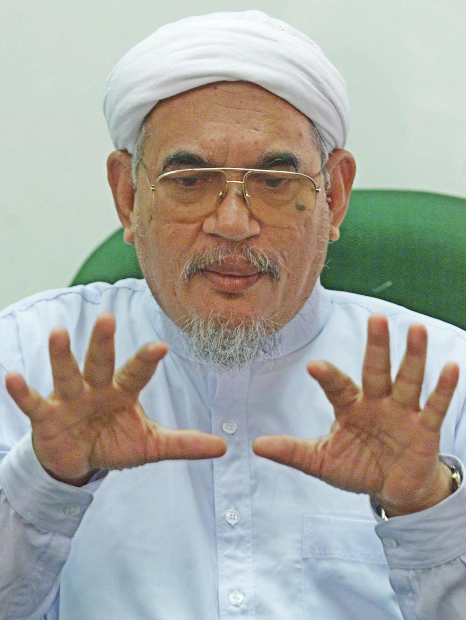 PAS leader Abdul Hadi Awang