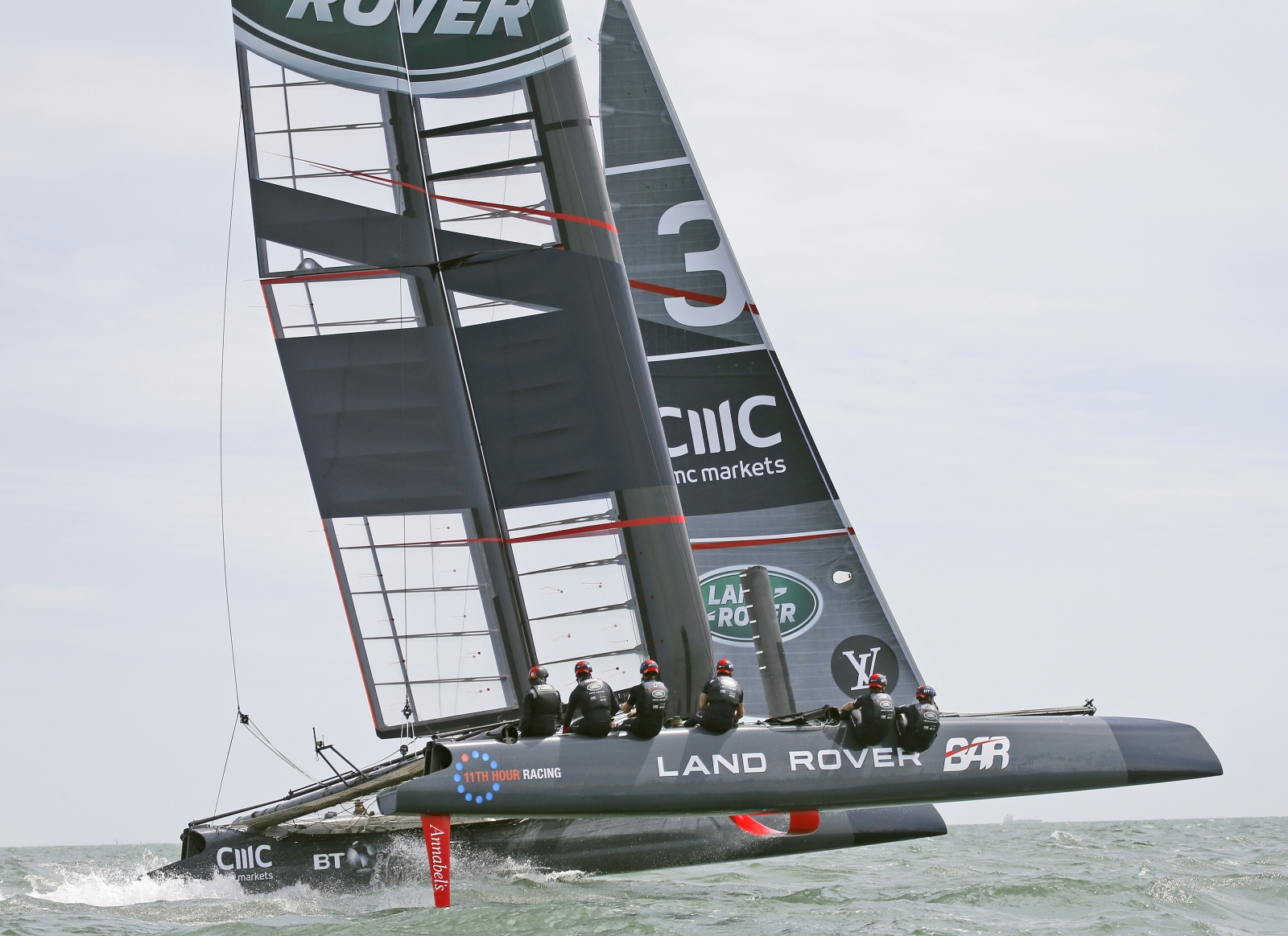 BAE Systems developed bone conduction communication systems being used by Land Rover BAR sailing team