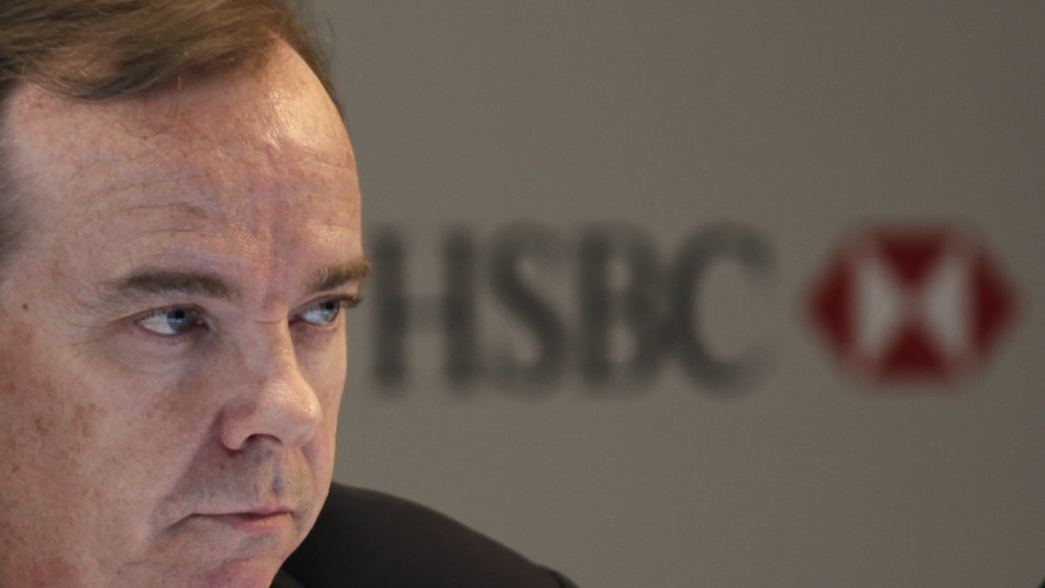 "HSBC ""most in need of a change in CEO"", according to a poll of institutional investors"
