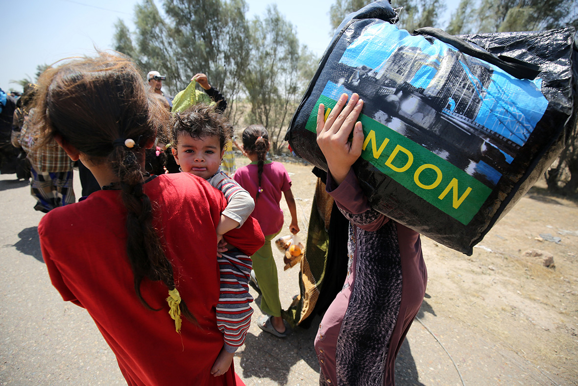 Fleeing Fallujah