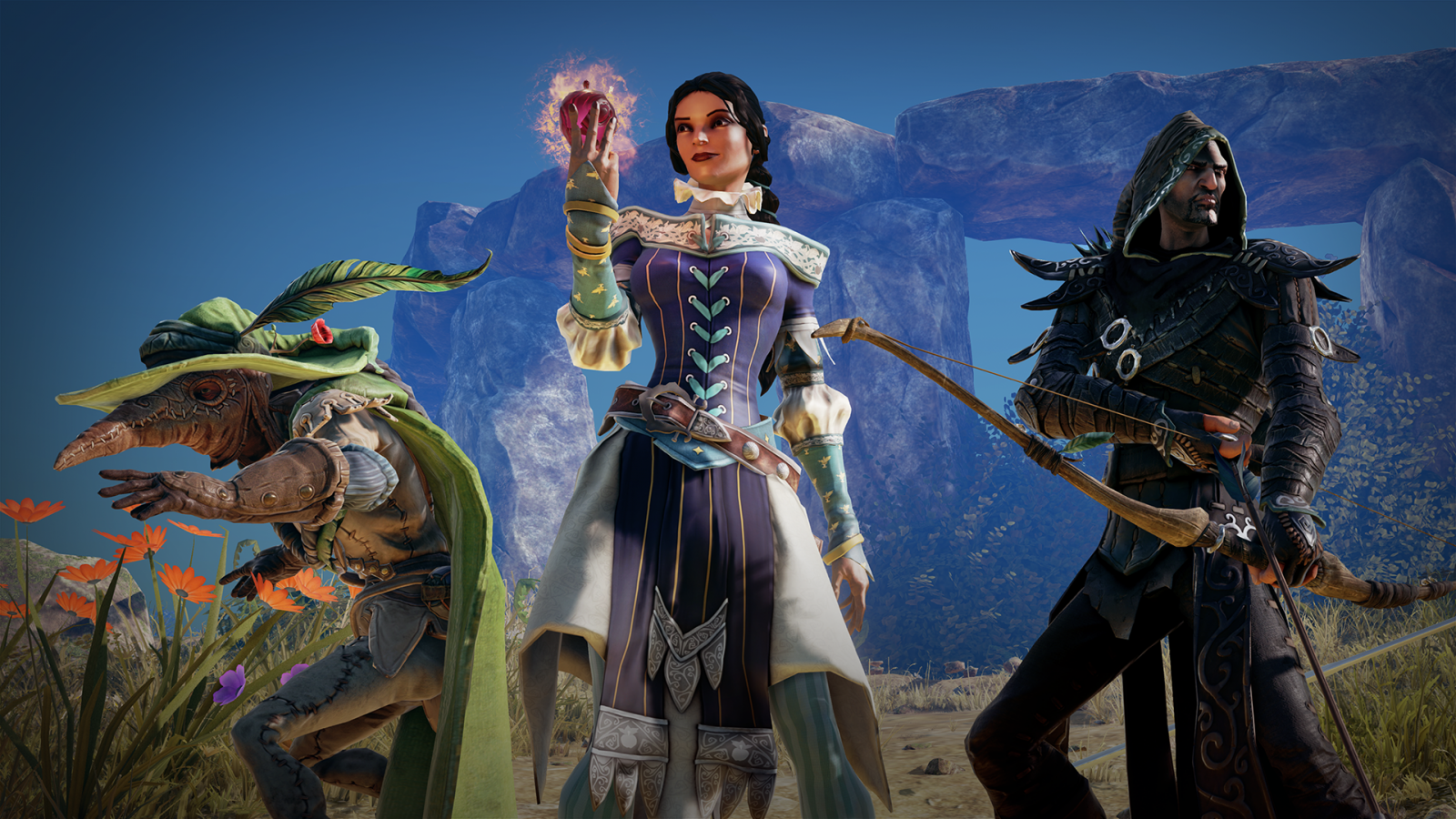 Fable Legends three heroes Fable Fortune