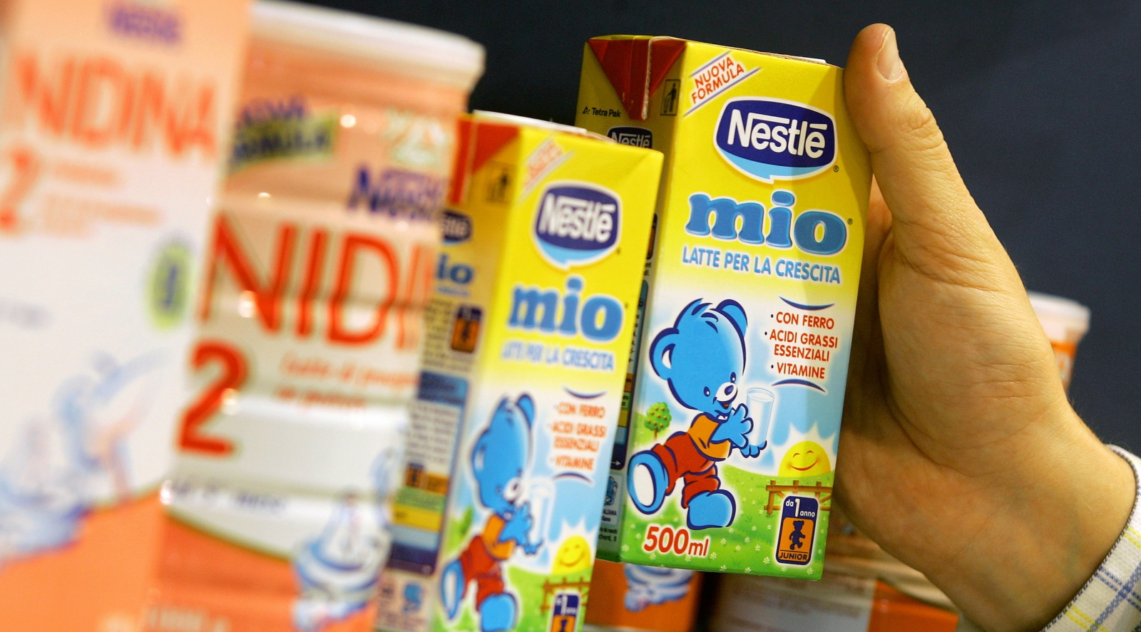 Nestle gains rights to a DBV Technologies testing kit that could diagnose if a baby is allergic to cow's milk