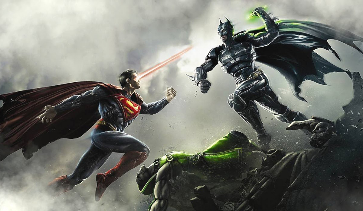 Injustice Gods Among Us Batman Superman