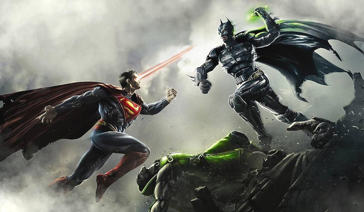 Injustice Gods Among Us Batman Superman
