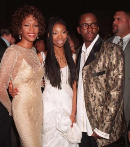 Whitney Houston, Brandy and Bobby Brown