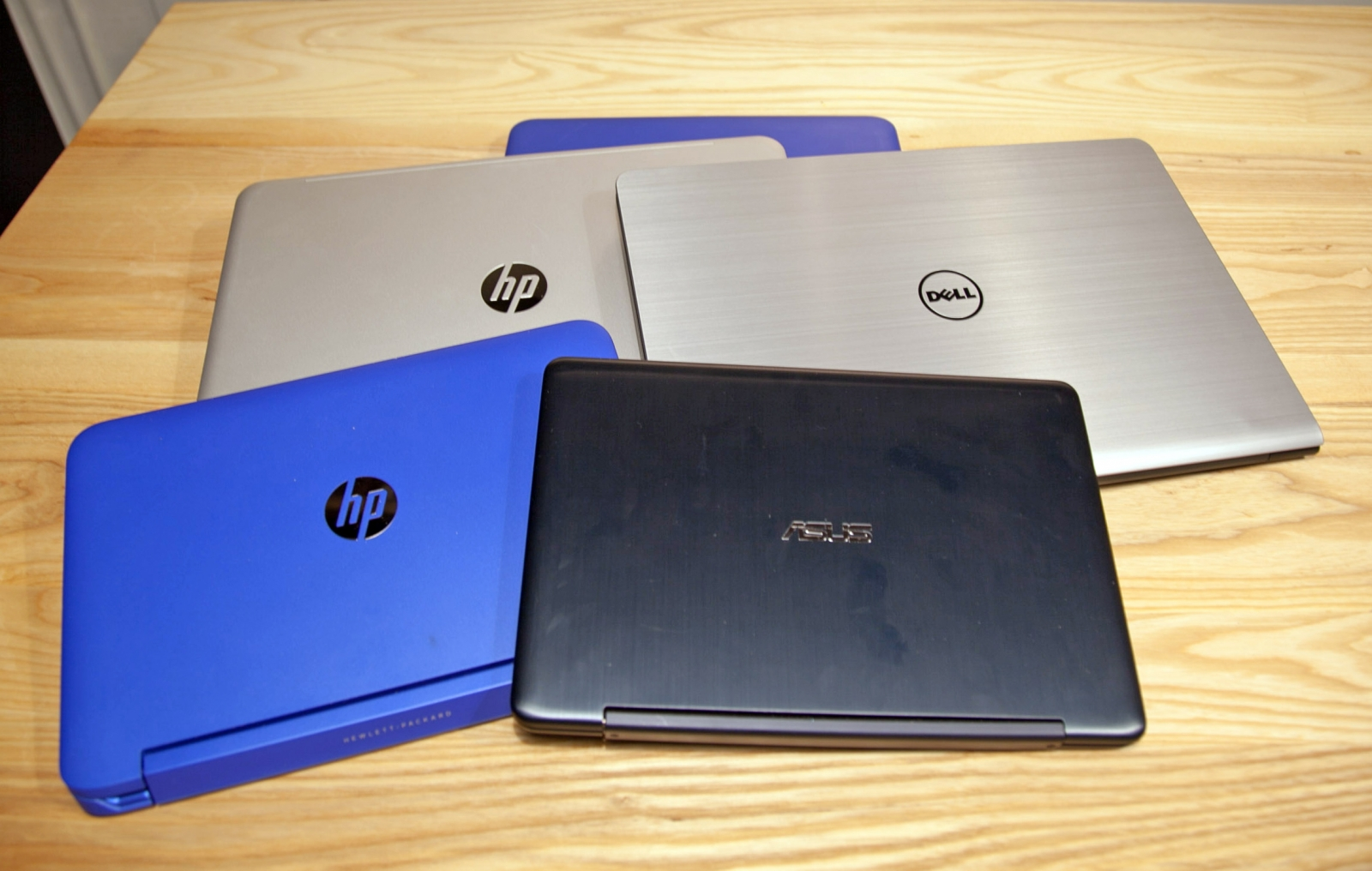 HP, Asus, Acer, Lenovo and Dell laptops