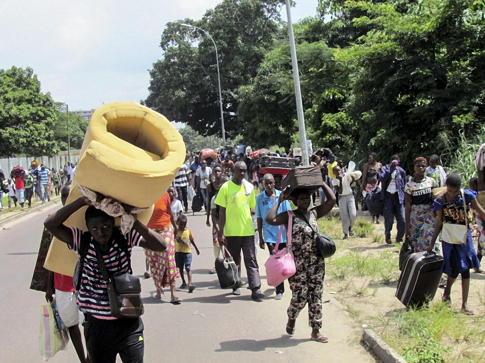 Congo Brazzaville violence