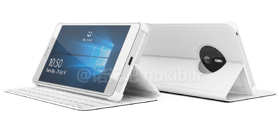 Microsoft Surface phone render leak