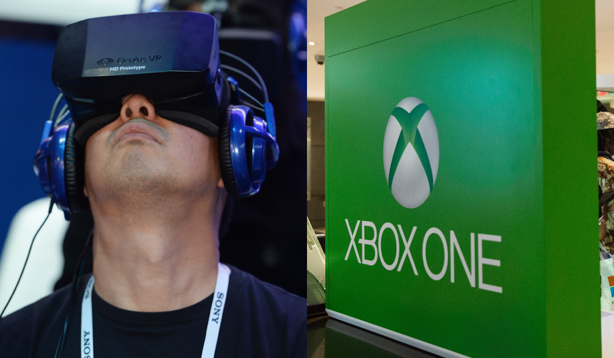 Oculus Rift Xbox One Microsoft on x box games